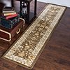 1?8? x 7? Area Rug- Mixed Florals in Neutral Brown, Beige and Ivory-Traditional Vintage Oriental Inspired Rug-Classic Carpet Home D�cor by Lavish Home
