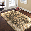 8?x10? Area Rug- Mixed Florals in Neutral Brown, Beige and Ivory-Traditional Vintage Oriental Inspired Rug-Classic Carpet Home D�cor by Lavish Home
