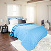 Solid Color Quilt by Lavish Home Full/Queen - Blue