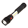 2-in-1 LED Flashlight ? Magnetic Telescoping 260 Lumens Handheld Dual Beam Spotlight for Fishing, Camping, Auto Repair, More by Stalwart