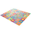 Interlocking Foam Tile Play Mat with Shapes - Nontoxic Children's Multicolor Puzzle Tiles for Playrooms, Nurseries, Gyms and More by Hey! Play!