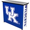 University of Kentucky Portable Bar with Case - Text