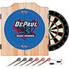 DePaul University Dart Cabinet with Darts and Board