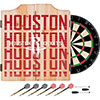 NBA Dart Cabinet Set with Darts and Board - City  - Houston Rockets