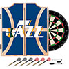 NBA Dart Cabinet Set with Darts and Board - Fade  - Utah Jazz