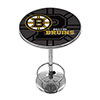 NHL Chrome Pub Table - Watermark - Boston Bruins�