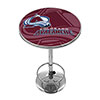 NHL Chrome Pub Table - Watermark - Colorado Avalanche�