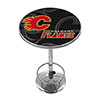 NHL Chrome Pub Table - Watermark - Calgary Flames�