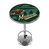NHL Chrome Pub Table - Watermark - Minnesota Wild�