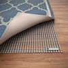 Non Slip Rug Pad- Rubber Non Skid Gripper for Area Rugs on Hard Surfaces and Wood Floors (8? x 10?)- Trim to Fit Multiple Rug Sizes By Lavish Home