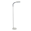 Natural Full Spectrum Sunlight Reading and Crafting Floor Lamp by Lavish Home (Tan) - Adjustable Gooseneck