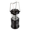 LED Lantern, Collapsible and Portable LED Outdoor Camping Lantern Flashlight for Hiking, Camping and Emergency By Wakeman Outdoors (Black)