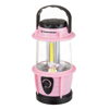 LED Lantern, Adjustable LED COB Outdoor Camping Lantern Flashlight With Dimmer Switch for Hiking, Camping and Emergency By Wakeman Outdoors (Pink)