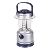 LED Lantern, Outdoor Camping Lantern Flashlight With Adjustable Brightness,  Dimmer Switch And Built-In Compass By Wakeman Outdoors (Silver)