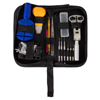 144 Piece Watch Repair Kit- Tool Set for Repairing Watches Including Opener, Watch Holder, Link Remover and Storage Carrying Case by Stalwart