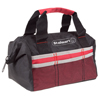 Soft Sided Tool Bag With Wide-Mouth Storage- Durable 12 Inch Compact Storage Pouch With Pockets for Tools and Organization By Stalwart (Red)