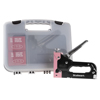 Light Duty Staple Gun Kit- Stapler for Upholstery, Fabric, Wood, Crafts, Construction, Bulletin Board with Staples and Carrying Case by Stalwart, Pink