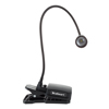 Clip On Lamp, CREE LED Light And Portable Work Light With 500 Lumen, Clamp and Flexible Gooseneck For Desks, Reading And Workbench By Stalwart (Black)