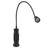 Magnetic Lamp, CREE LED Work Light With 550 Lumen, Two Magnet Bases and Flexible Gooseneck For Desks, Reading and Workbench By Stalwart (Black)