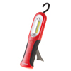 COB LED Work Light With Magnet, Adjustable Hanging Hook and Stand - 90 Lumen 3 Watt Flashlight With 100,000 Hour Lifespan by Stalwart (Red)