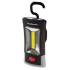 COB LED Compact Work Light With Magnet, Hook and Belt Clip - 100 Lumen 3-watt COB 3 SMD Flashlight With 100,000 Hour Lifespan by Stalwart (Black)