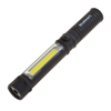 LED Pocket Flashlight With 100 Lumen, Magnet and Belt Clip- 3 Watt COB Compact Inspection Work Light With 100,000 Hour Lifespan by Stalwart (Black)