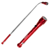 Magnetic Pocket LED Work Light with Flexible, Extendable Telescoping Flashlight, Dual Magnets, and Clip- Lasts Up to 100,000 Hours by Stalwart (Red)