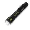 Handheld Aluminum LED Flashlight- 120 Lumen Water Resistant Light with 3 Settings and Focus Zoom By Stalwart (Green) (For Camping Hiking Emergency)