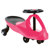 Wiggle Car Ride On Toy ? No Batteries, Gears or Pedals ? Twist, Swivel, Go ? Outdoor Ride Ons for Kids 3 Years and Up by Lil? Rider (Hot Pink)