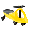 Wiggle Car Ride On Toy ? No Batteries, Gears or Pedals ? Twist, Swivel, Go ? Outdoor Ride Ons for Kids 3 Years and Up by Lil? Rider (Yellow)