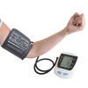 Automatic Upper Arm Blood Pressure Monitor with Cuff and LCD Display Screen- Fast BP and Pulse Readings, WHO Indicator with Carrying Bag by Bluestone