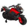 Ride on Toy, 2 Wheel Motorcycle with Training Wheels by Lil' Rider - Battery-Powered Ride-on Toy for Toddlers Boys and Girls 3 - 6 Years Old - Red