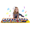 Step Piano Mat for Kids, Keyboard Mat with Musical Keys, Instrument Sounds, Record, Playback, Demo Modes for Toddlers, Boys and Girls by Hey! Play!