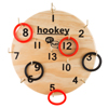 Hook Ring Toss Game Set for Outdoor or Indoor Play, Safe Alternative to Darts for Adults and Kids by Hey! Play!
