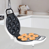 Mini Donut Maker- Electric Appliance Baking Machine to Mold Little Doughnuts Using Batter/Mix - Bake Chocolate, Glazed, and More Flavors by Chef Buddy