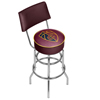 NBA Swivel Bar Stool with Back - City  - Cleveland Cavaliers