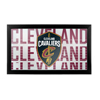 NBA Framed Logo Mirror - City  - Cleveland Cavaliers