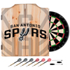 NBA Dart Cabinet Set with Darts and Board - Fade  - San Antonio Spurs