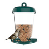 Bird Feeder Window Station for Outdoor Wild Birds with Suction Cup and Seed Tray, Use Outside on Balcony, Deck, Garden, or Window by Pure Garden