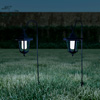 Hanging Solar Coach Lights- 26? Outdoor Lighting with Hanging Hooks for Garden, Path, Landscape, Patio, Driveway, Walkway- Set of 2 by Pure Garden