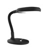 Natural Sunlight Desk Lamp, Great For Reading and Crafting, Adjustable Gooseneck, Home and Office Lamp by Lavish Home, Black