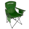 Oversized Camp Chair-300lb Capacity Big Tall Quad Seat with Cup Holder, Cooler, Carry Bag-Tailgating, Camping, Fishing by Wakeman Outdoors