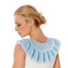 Hot and Cold Shoulder and Back Wrap- Microwavable/Freezable Compress for Comfort, Relaxation, and Soothing Achy Muscles and Joints by Bluestone