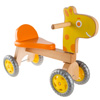 Walk and Ride Wooden Giraffe-Balance Bike for Toddlers-Ride, Push, or Pull Toy Perfect for Boys and Girls by Happy Trails