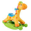 Rocking Horse Ride-on Toy for Children-Can be a Rocker or Roll & Push and Ride-Helps Develop Strength, Balance-Fun for Boys and Girls by Happy Trails