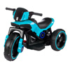 Ride-On Toy Trike Motorcycle ?Battery Operated Electric Tricycle for Toddlers with Built-in Sound, Lights and MP3 Input by Lil' Rider (Blue)