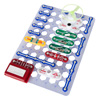 Kids Circuit Board Building Kit- Electronic STEM Toy with Snap Wire Configurations, Buzzer, More for Learning Science, Engineering by Hey! Play!