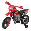 Kids Beginner Dirt Bike-Ride On Battery Powered Mini Motor Bike Toy with Training Wheels, Lights, and Sounds for Boys and Girls by Lil? Rider (Red)
