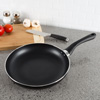 Non Stick 10? Frying Pan with Heat Safe Handle- Oven / Dishwasher Safe Allumi-Shield Cookware Skillet and Saut� Fry Pan by Classic Cuisine (Black)