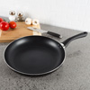 Non Stick 12? Frying Pan with Heat Safe Handle- Oven / Dishwasher Safe Allumi-Shield Cookware Skillet and Saut� Fry Pan by Classic Cuisine (Black)
